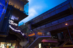 Bangkok, Thailand siam center next to the subway station Stock Photos