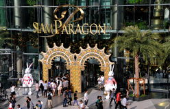 Bangkok, Thailand: Siam Paragon Shopping Center Royalty Free Stock Photos