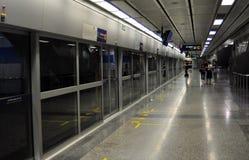 Bangkok, Thailand: Silom MRT-U-Bahnstation lizenzfreies stockfoto
