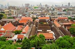 Bangkok (Thailand), skyline panorama Royalty Free Stock Photos