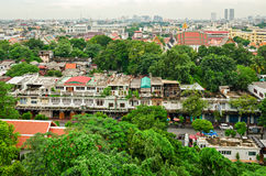 Bangkok (Thailand) skyline panorama Royalty Free Stock Photo