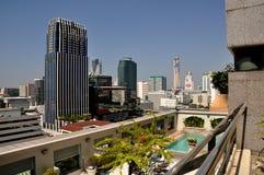 Bangkok, Thailand: Skyline View Royalty Free Stock Photos
