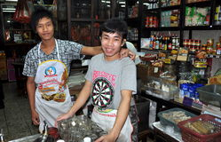 Bangkok, Thailand: Smiling Restaurant Workers Stock Photography