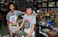 Bangkok, Thailand: Smiling Restaurant Workers Stock Photography