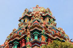 Bangkok. Thailand, Southeast Asia -  Sri Mariamman Hindu temple Stock Photos