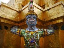 Bangkok, Thailand. Statue inside the Royal Palace in Bangkok, Thailand. Decorative, gold. Travel. Asia Royalty Free Stock Photo