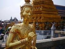 Bangkok, Thailand. Statue inside the Royal Palace in Bangkok, Thailand. Decorative, gold. Travel. Asia Royalty Free Stock Photos