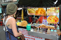 Bangkok, Thailand: Street Food Vendor Stock Image