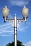 Bangkok thailand street lamp     temple   abstract Royalty Free Stock Photography