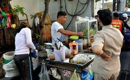 Bangkok, Thailand: Street Vendor Selling Food Royalty Free Stock Photography
