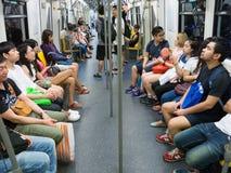 Bangkok, Thailand Subway, Thai People Royalty Free Stock Photo