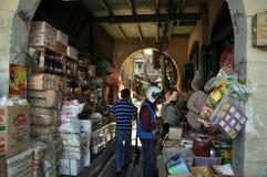 Bangkok, Thailand: Ta Tien Chinatown Market Stock Photo