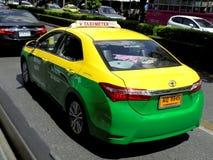 Bangkok-Thailand: Taxi-Meter/Fahrerhaus in Bangkok Wahl für Sie Stockfotografie