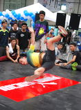 Bangkok, Thailand: Teenage Break Dancer Stock Photo