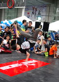 Bangkok, Thailand: Teenage Break Dancer Stock Image