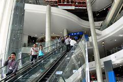 Bangkok, Thailand: Terminal 21 Shopping Center Stock Photos