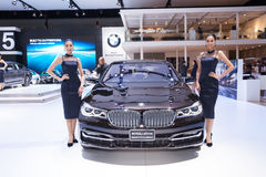 Bangkok, Thailand. 28th Mar, 2017. BMW M760Li xDrive Model v12 E Stock Photo