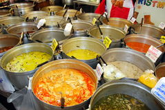 Bangkok, Thailand: Thai Foods at Chatuchak Market Stock Photo