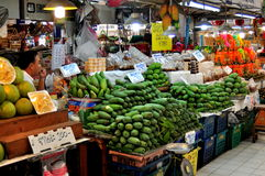 Bangkok, Thailand: Or Tor Kor Market. A vast selection of exotic fruits can be found at the daily Or Tor Kor Fresh Food Market near Chatuchak Park in Bangkok Stock Images