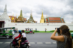 Bangkok, Thailand : Tourist take photo Stock Images