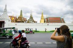 Bangkok, Thailand : Tourist take photo Stock Images