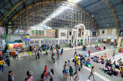 Bangkok Thailand train station. Royalty Free Stock Photography