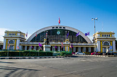 Bangkok Thailand : Train station Stock Images