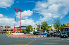 Bangkok, Thailand : travel at Giant swing Royalty Free Stock Photography