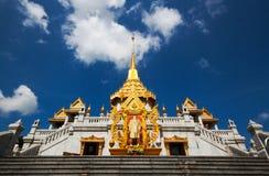bangkok thailand trimitwat Royaltyfria Bilder