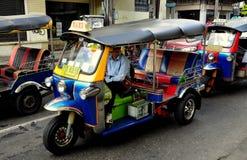 Bangkok, Thailand: Tuk-Tuk on Khao San Road Royalty Free Stock Images