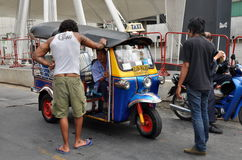 Bangkok, Thailand: Tuk-Tuk Taxi Royalty Free Stock Photo