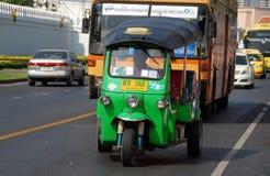 Bangkok, Thailand: Tuk-tuk taxi Stock Image