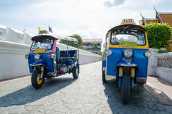 Bangkok, Thailand : TUK TUK taxi Royalty Free Stock Photo