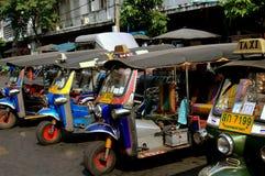 Bangkok, Thailand: Tuk-Tuk Taxis Royalty Free Stock Image