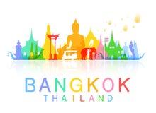 Bangkok Thailand. royalty free illustration