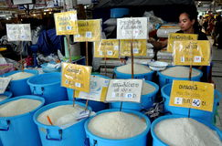 Bangkok, Thailand: Vendor Selling Rice Stock Photos