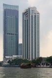 Bangkok, Thailand. View from the Chao Phraya River Royalty Free Stock Images