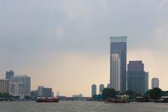 Bangkok, Thailand. View from the Chao Phraya River Royalty Free Stock Photo