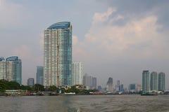Bangkok, Thailand. View from the Chao Phraya River Stock Image