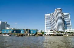 Bangkok, Thailand : View of riverside Royalty Free Stock Image