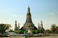 Bangkok, Thailand: Wat Arun Royalty-vrije Stock Afbeelding