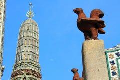 Bangkok Thailand Wat Arun Royalty-vrije Stock Foto's