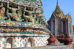 Bangkok Thailand Wat Arun Royalty Free Stock Photos