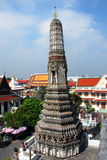 Bangkok, Thailand: Wat Arun Prang Stock Photo