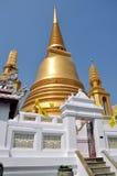 Bangkok, Thailand: Wat Bowornniwet Chedi Royalty Free Stock Images