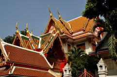 Bangkok, Thailand: Wat Chaichana Songkhram Royalty Free Stock Photography