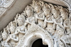 Bangkok, Thailand: Wat Gateway Buddhas Royalty Free Stock Images