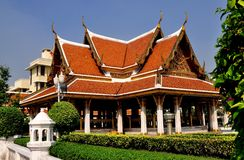 Bangkok, Thailand: Wat Mahathat Sala Royalty-vrije Stock Fotografie