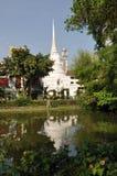 Bangkok, Thailand: Wat Pathum Wanaram Stock Photos