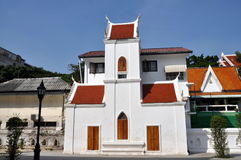 Bangkok, Thailand: Wat Pathum Wanaram Stock Image